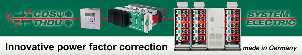 SYSTEM ELECTRIC power factor correction