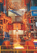 SYSTEM ELECTRIC Project: Stainless steel melting plants;